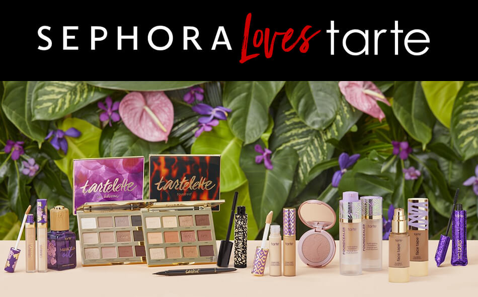 Sephora loves tarte